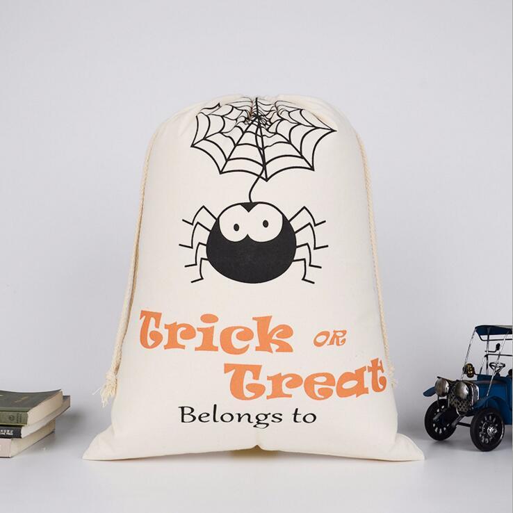Halloween drawstring bags 9 style Pumpkin Party Candy storage bag Christmas gift bag Halloween decoration CFYZ61