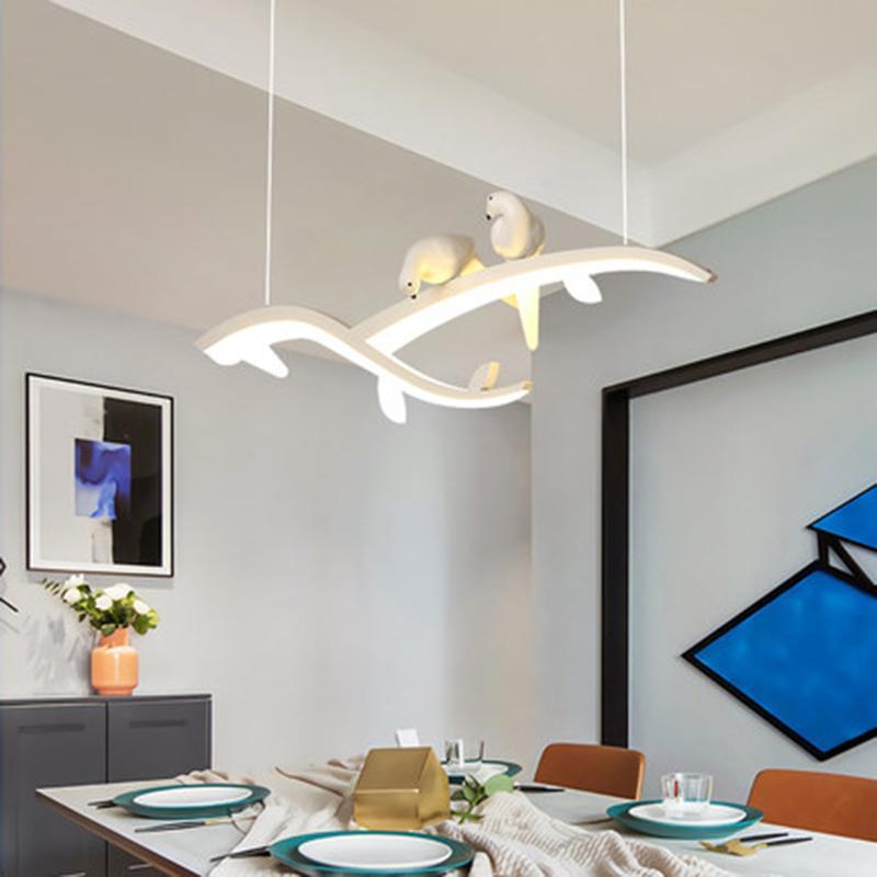 Moderne LED-Pendelleuchten Küche Pendelleuchte modern eingerichteten Einzel- Esszimmer Restaurant Lampe Beleuchtung hängen