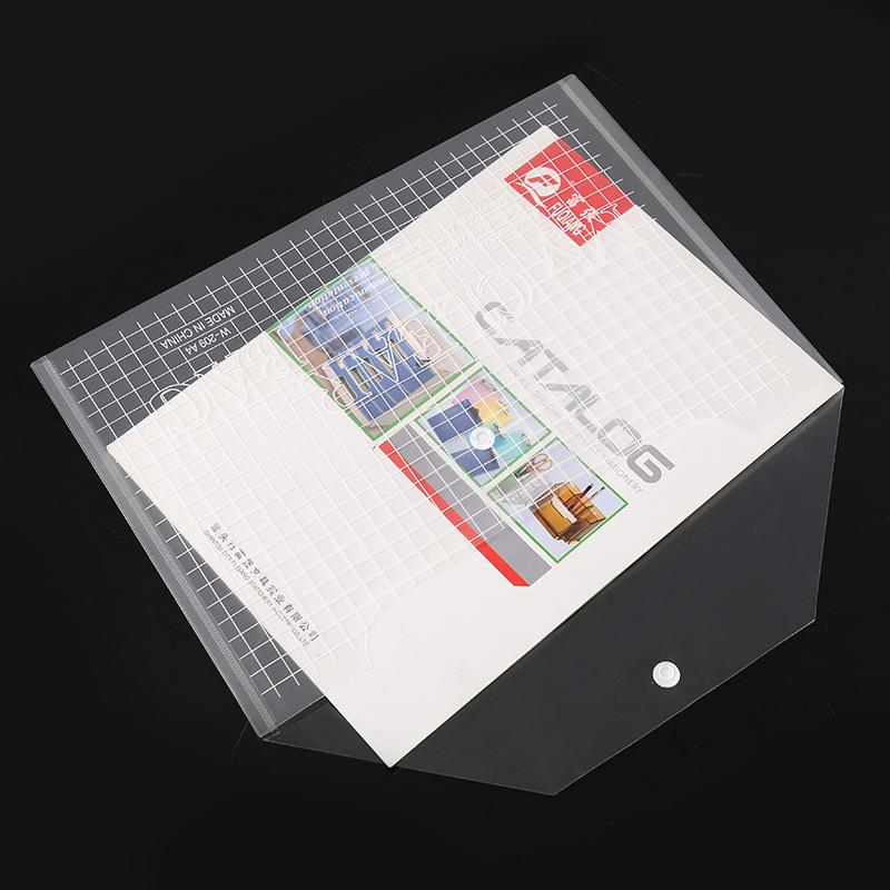 كبيرة مجلدات شفاف الملف البلاستيك A4 مجلدات حقيبة وثيقة حقائب عقد المجلدات إيداع اللوازم المدرسية مكتب ورقة الوثيقة التخزين