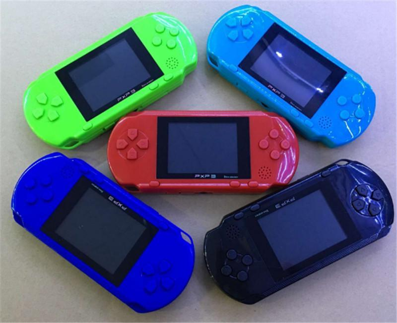 Mini portatile PXP3 PXP (16bit) PVP migliore regalo di natale Console Video TV-Out Giochi Slim Station (8Bit) del gioco console di gioco Player Bambino