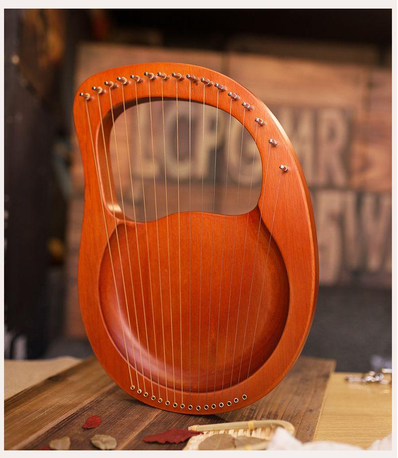 Бесплатная доставка 16-тонная игрушка арфа 16 струн Laiya Новички маленькая арфа Музыкальный инструмент игрушка Портативный маленький Обязательный для детей, которые любят