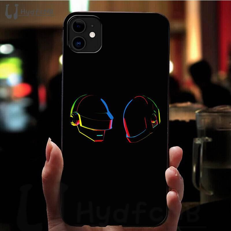 2020 black Daft Punk High Quality Phone Case for iPhone 11 8 7 6 6S X 5 5S SE XR case wholesale