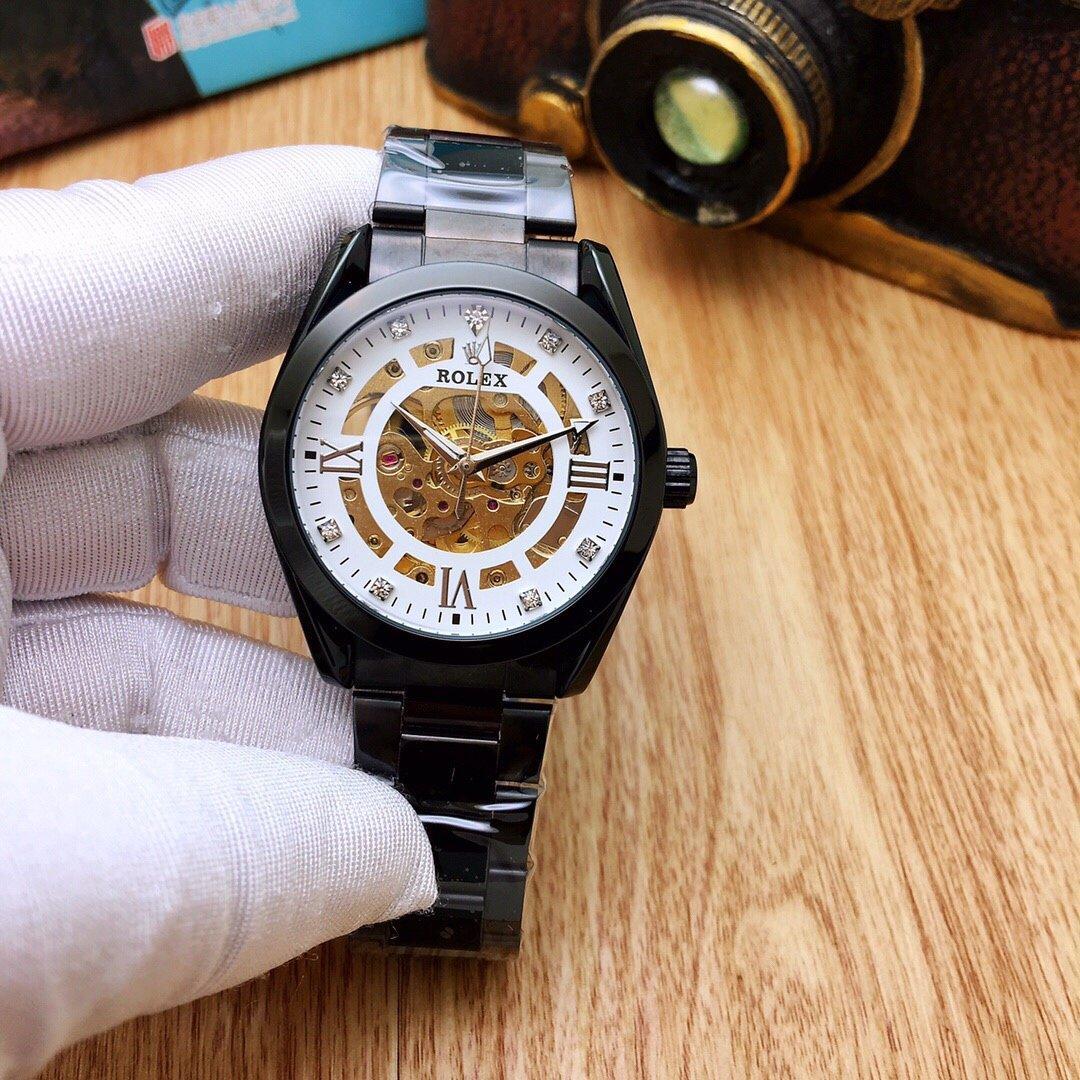 Мода Полые набора Бизнес Мужская механические часы из нержавеющей стали ремешок Водонепроницаемый Диаметр 39мм Толщина 12мм Dial4