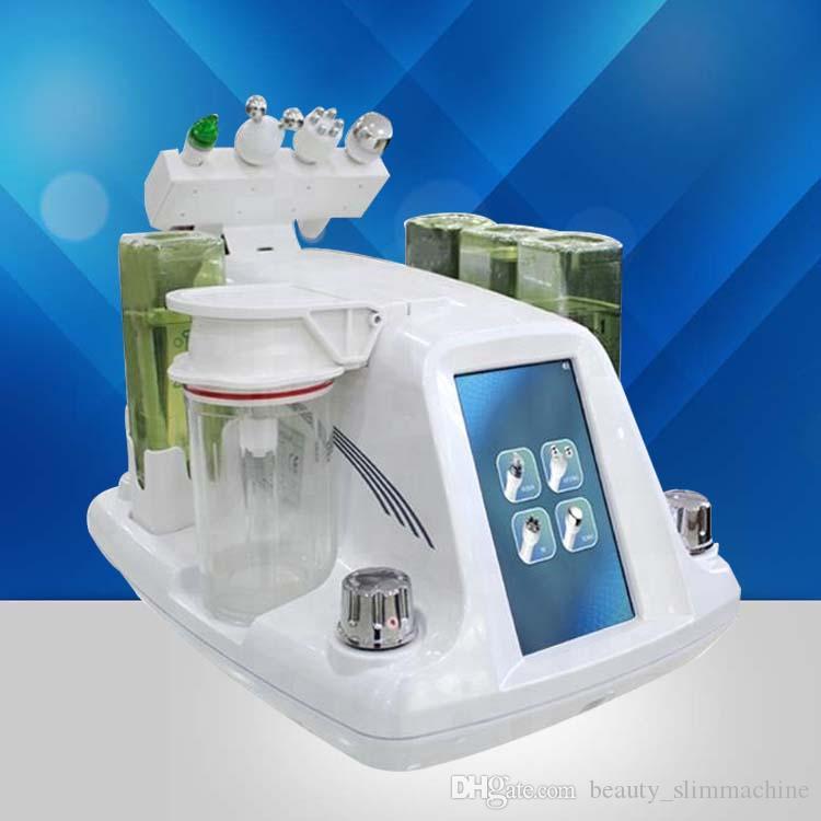 Hydra Dermabrasion RF Bio-Lifting Spa Gesichtsmaschine / Aqua Gesichtsreinigungsmaschine / Wasser Peeling Dermabrasion Schneller Versand
