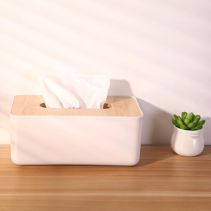 1pc del tejido duradero caja reutilizable servilleta cuadro titular de la buena calidad de toallitas húmedas portátil de tejidos de contenedores Inicio Accesorios de Cocina