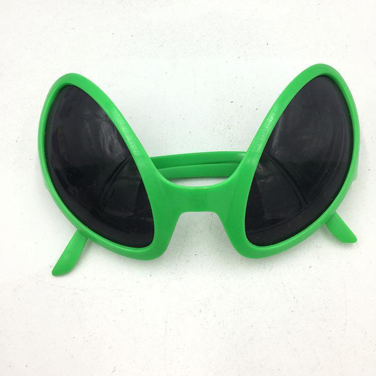 Uzaylı Eğlence Parti Güneş Gözlüğü PVC Malzeme Fun Cadılar Bayramı Cosplay Doğum Cadılar Bayramı Partisi Sarf Malzemesi dekore Maskesi