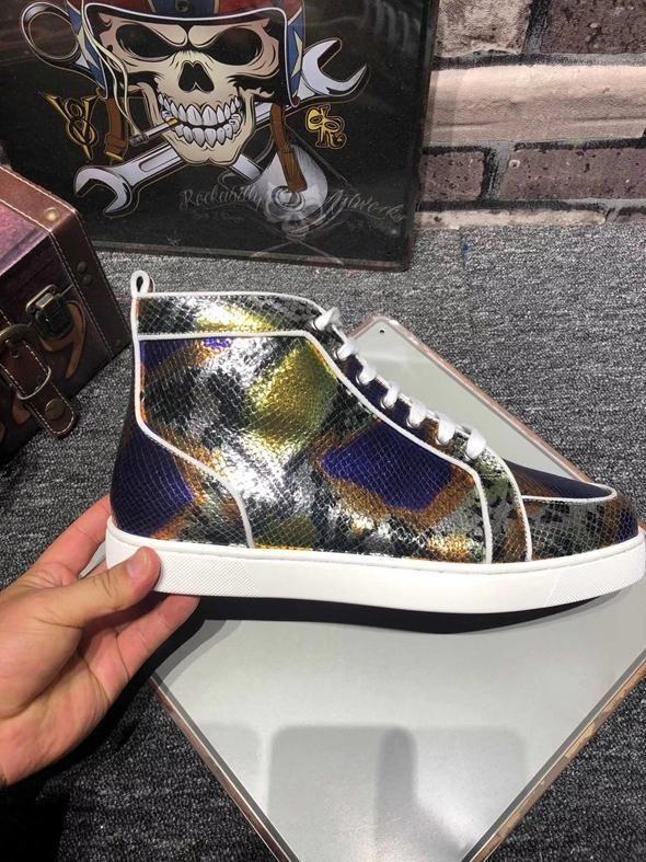 2020 Chaussures design fond rouge hommes et luxe unique plat des femmes fête quelques chaussures de sport taille 36-46 lll