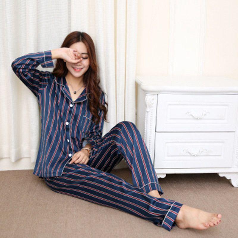 Ropa de dormir mujer primavera mujer pijamas set femme sexy pjs pantalones cortos lencería top fashion verano 2021 seda
