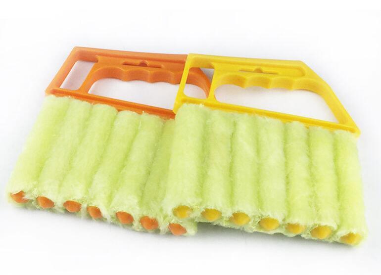 세척 블라인드 브러쉬 청소 클리너와 유용한 마이크로 화이버 창 청소 브러시 에어컨 먼지 떨이 클리너