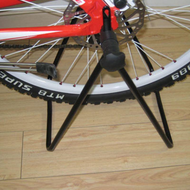 Universal Foldable Bicycle Bike Wheel Hub Stand Kickstand Repair Parking Holder