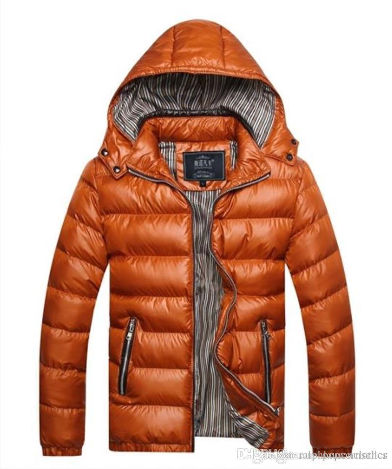 남자 후드 디자이너 다운 재킷 따뜻한 두꺼운 대형 대외 무역면 패딩 재킷 망 의류