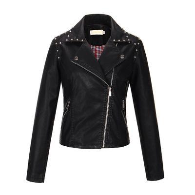 Progettista delle donne Giacche in pelle Womens Coats Ladys marchio solido rivestimento di colore Top Girls stile punk cappotto casuale 2020 Hot Sale Top Quanlity