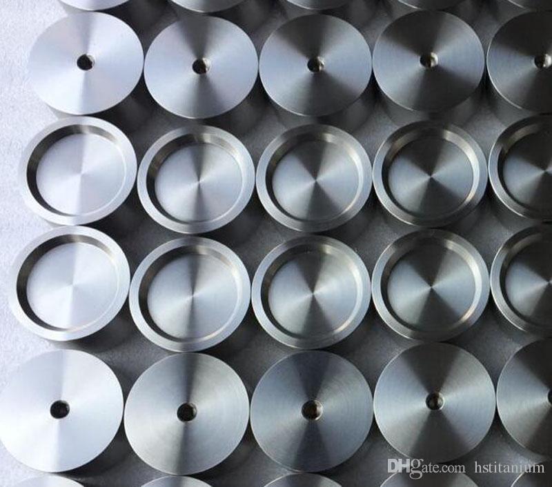 Scientific research magnetron sputtering pulse laser deposition high purity titanium target Ti target 99.995 factory direct sales Baoji gr2