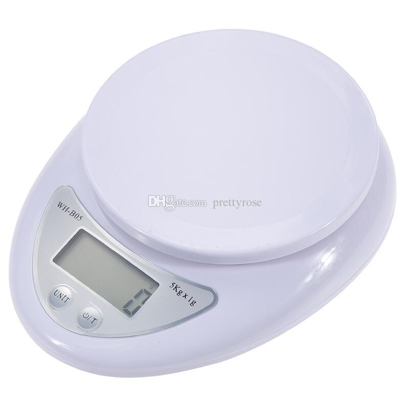المحمولة الإلكترونية وزن الرصيد المطبخ الغذاء المكونات مقياس عالية الدقة الرقمية أداة قياس الوزن مع مربع التجزئة dhl