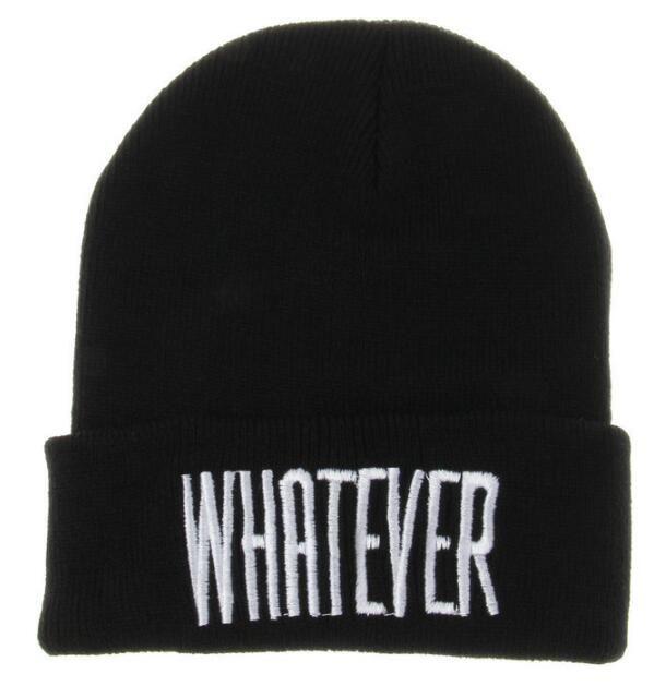 hommes de la mode tendance explosive et les femmes chapeau hip-hop QUELQUE Chapeau tricoté bboy de chapeau de laine WY842