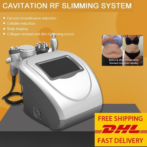 Großhandelspreis Ultraschall Kavitation Körper schlank Maschine Rollen Vakuum rf Kavitation Mquina de Lipo rf für spa