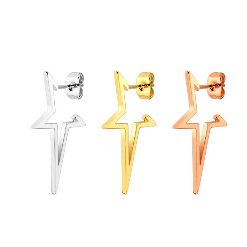 Huggie Hoop Boucle D'oreille Style Tendance Pour Les Femmes Piercing Piercing Simple Bijoux