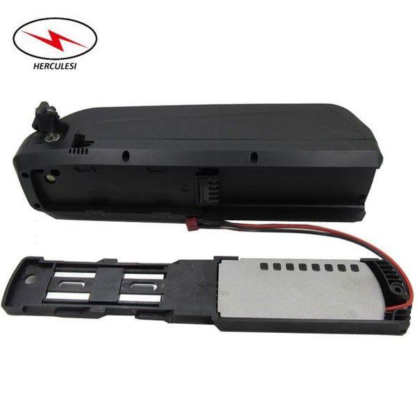 Super Qualität NCM Shark Lithium Batterie 48V 8.7Ah Lithium Ionen Batterie Packs für 700W Elektrofahrrad mit 2A Ladegerät und 15Amp BMS