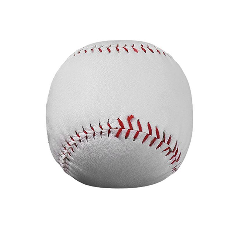 9-дюймовый ручной Baseballs Пвх Верхний резиновый Inner Мягкие бейсбольные мячи софтбол Шаровые Обучение Осуществления бейсбольные мячи