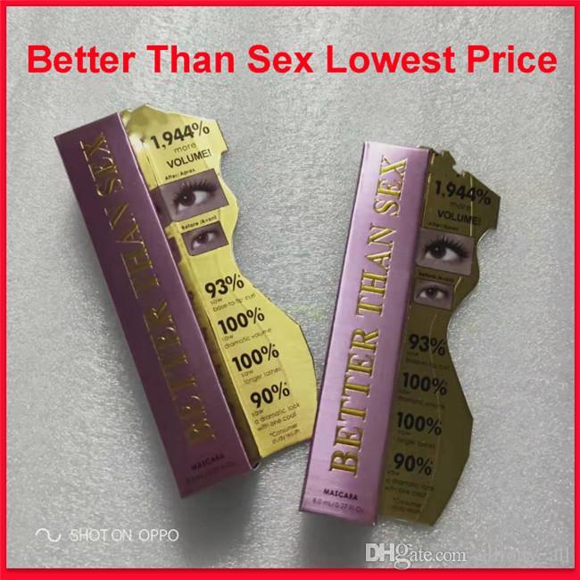 Better Than Sex Mascara Large Volume Mascara Rose Gold besser als Sex Cool Black Mascara DHL-freies