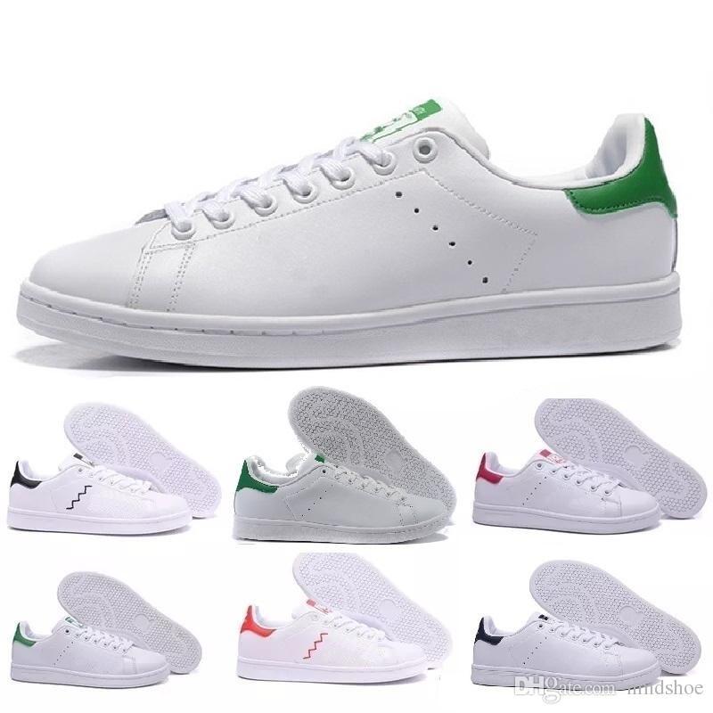 Adidas Stan Smith TOP qualité nouvelle stan chaussures de mode marque smith baskets en cuir casual hommes femmes sport jogging baskets classiques appartements chaussures de course