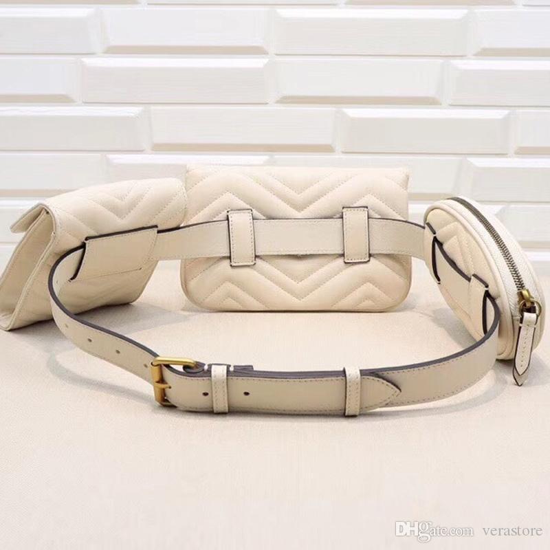 وضع VeraStore من مل 3pcs حزمة الخصر أعلى درجة الجلود حقائب نسائية حقائب الكتف حقيبة الجودة العظمى من النساء crossbags للأنثى