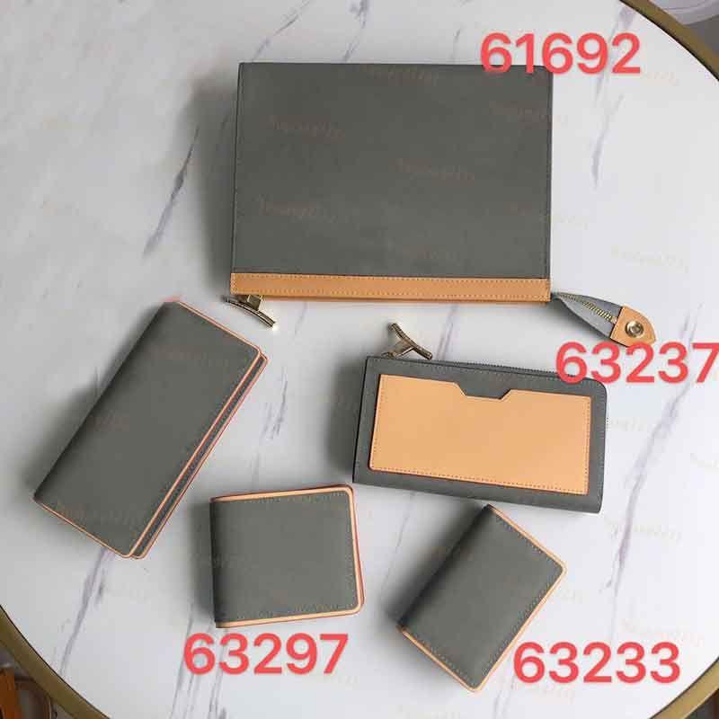 High quality brand men wallets designer short wallets luxury Credit Card Fashion Long purse nylon Wash gargle bag Card Holders with Gift box