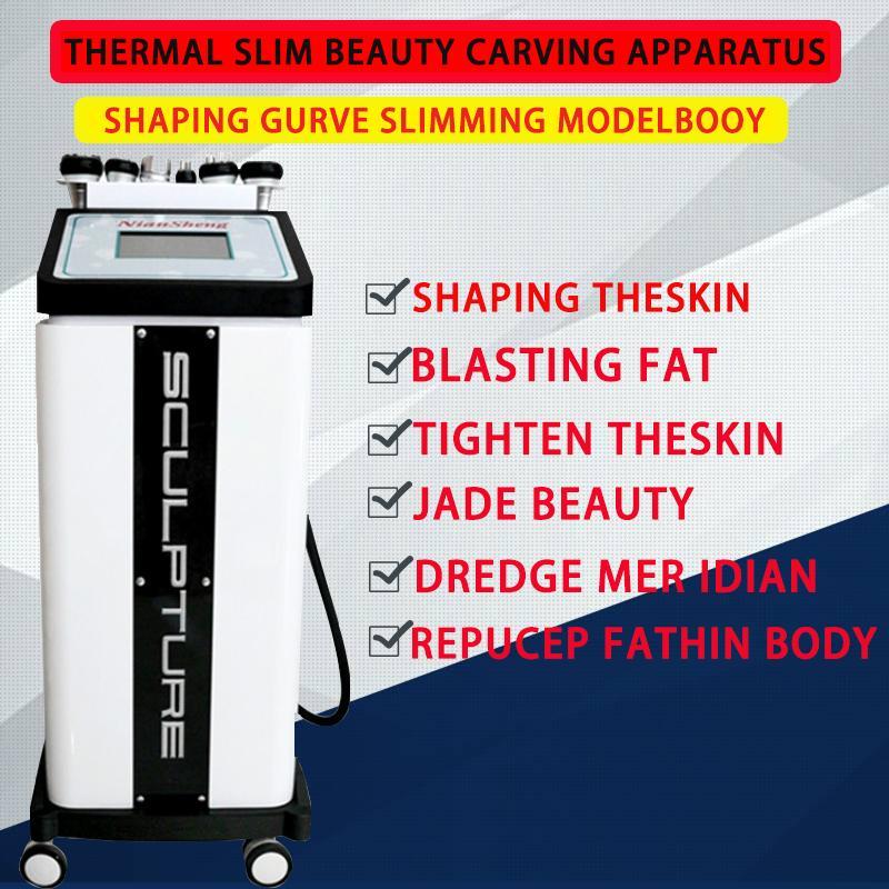 Beauty Carving Instrument Gesundheit Ausrüstung Schönheitssalon Radiofrequenz Fettreduktion Wärme dünn postpartale Reparatur rouge Körper instrum Schnitzen