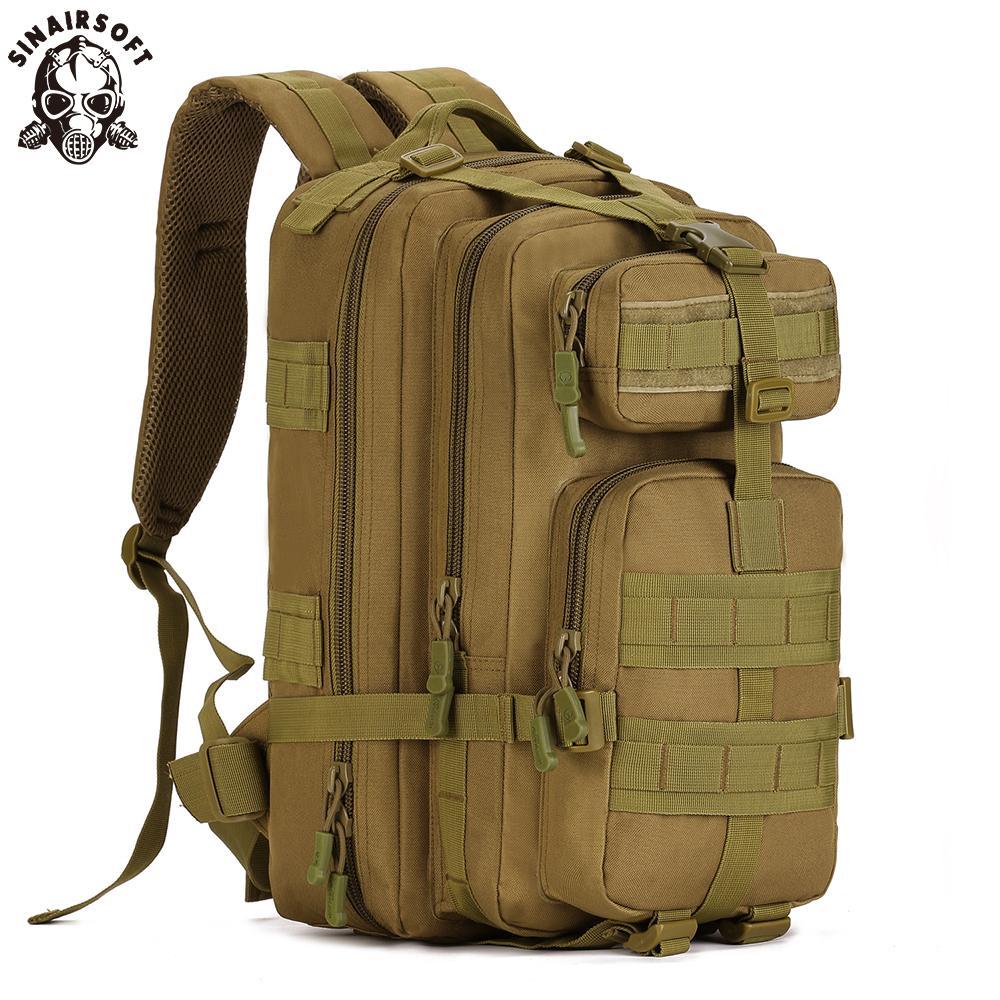 Mochila táctica de Molle Caza Pesca acampar 3P mochilas Serpentina Militar Senderismo recorrido del deporte del bolso que sube mochilas Bolsas