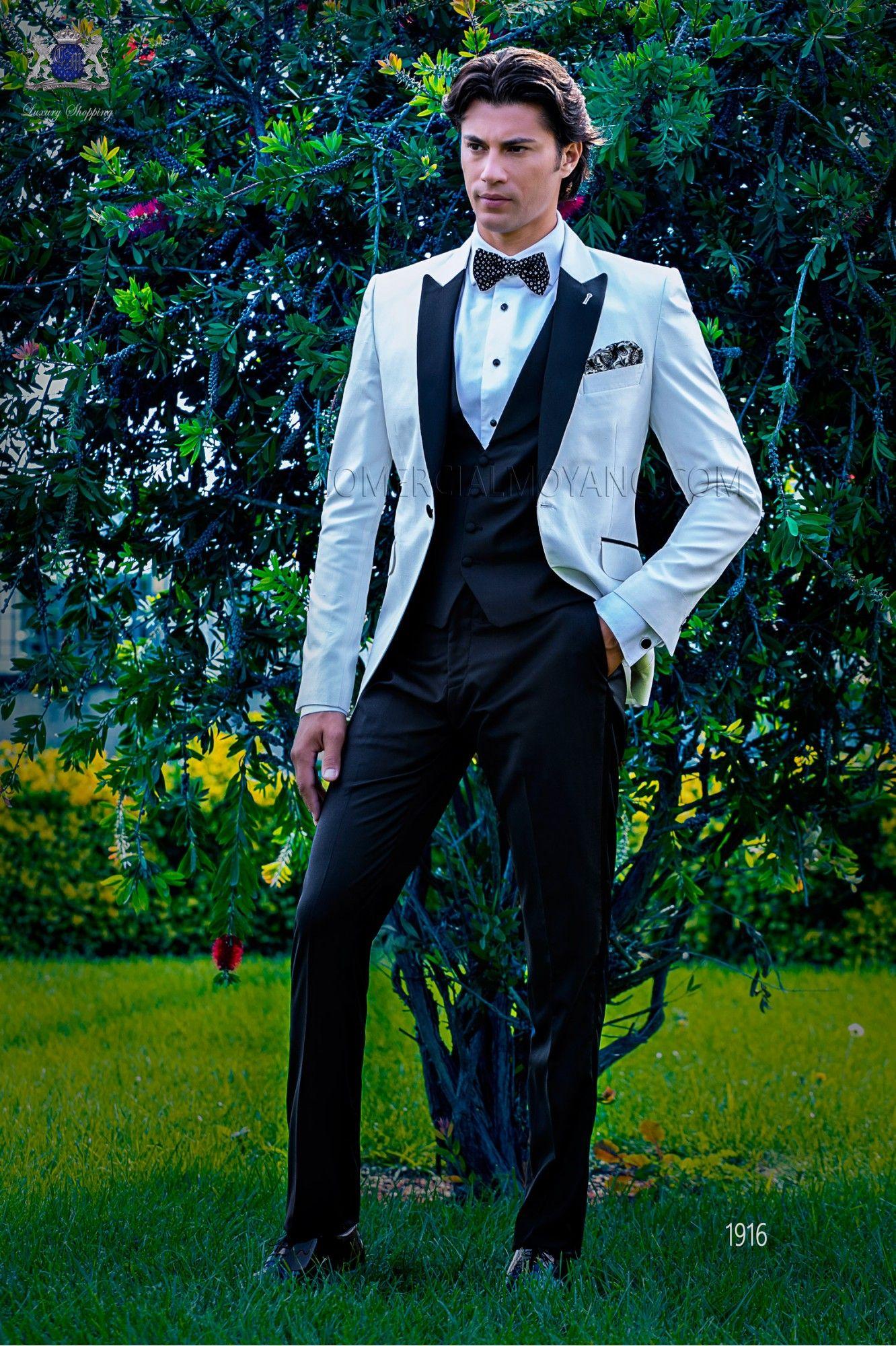 New Style Groom Tuxedos One Button Groomsmen Peak Black Lapel Best Man Suit Wedding/Men Suits Bridegroom ( Jacket+Pants+Vest+Tie ) A424