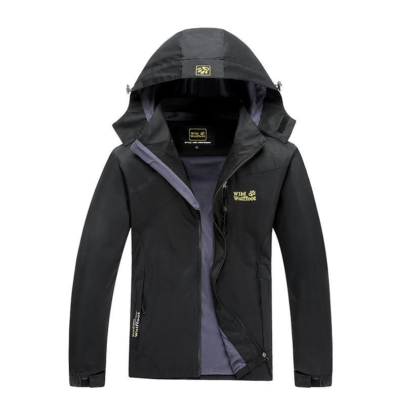 Printemps extérieur simple couche mince Raincoat Veste Hommes et femmes COUPLE sa pêche imperméable coupe-vent alpinisme costumes manteau 1