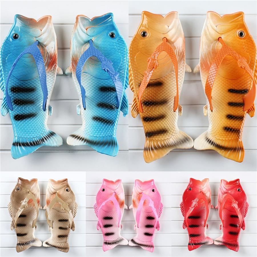Moda Donna 2020 romano di pesce pantofole Tutto-Fiammifero Estate Heels vestito femminile Beige Gladiator Pesce Pantofole Donne Bow Comfort # 358