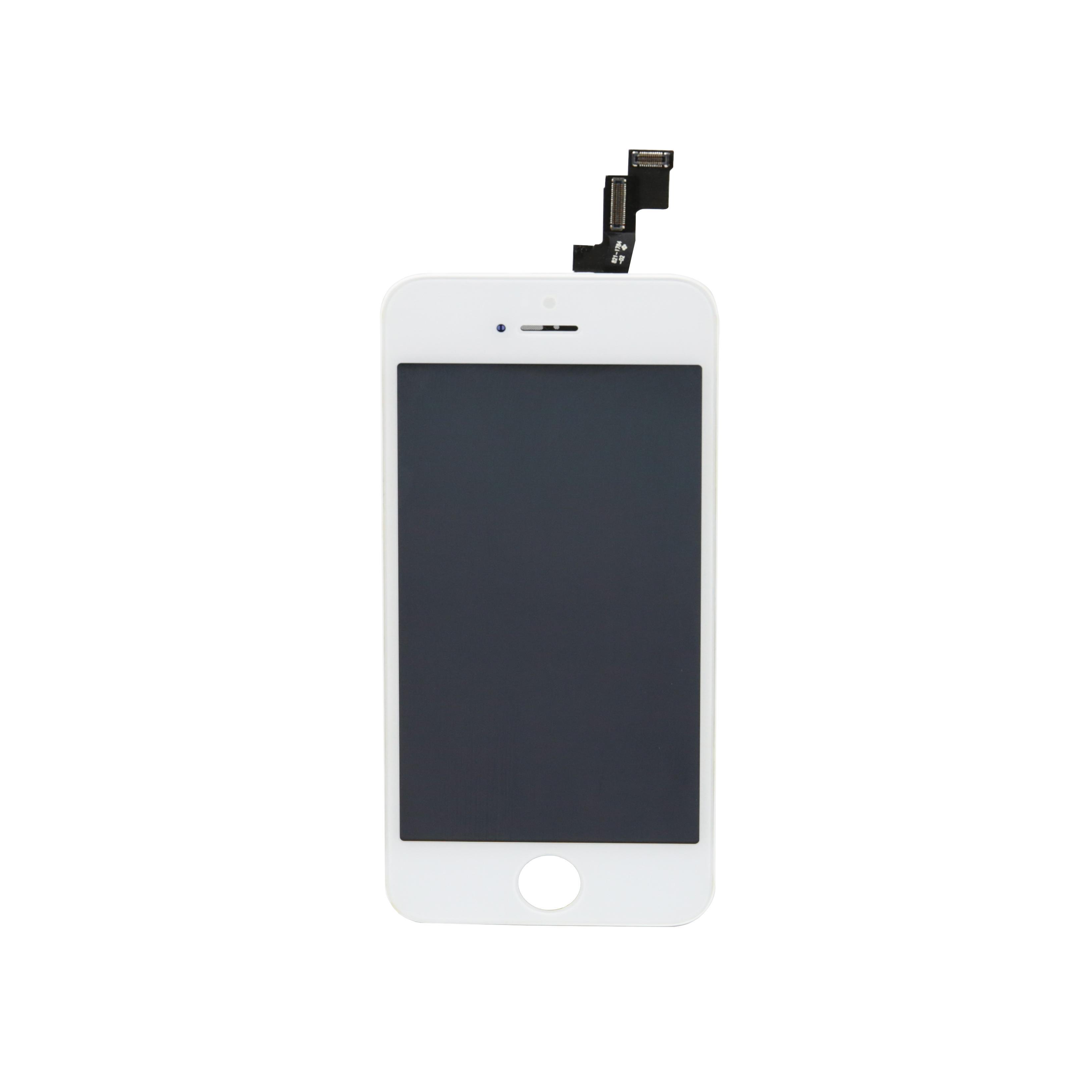 شاشة LCD آيفون 5 5S 5C عرض لوحات اللمس محول الأرقام استبدال التجميع الكامل لا بكسل ميت