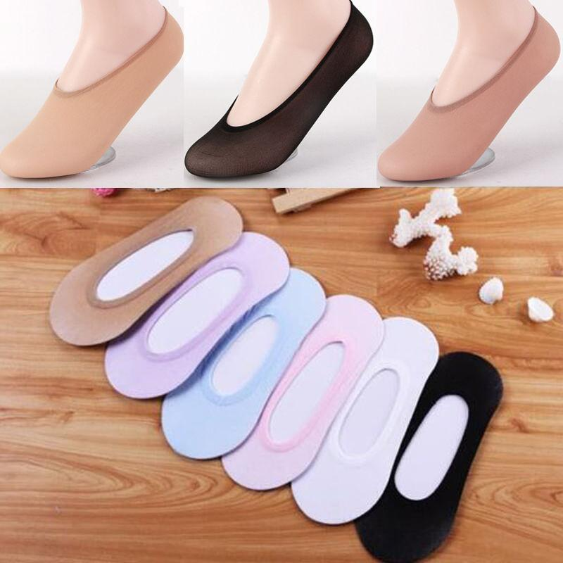 10 Pares Das Mulheres Das Mulheres Invisible Footsies Shoe Trainer Trainer Ballerina Boat Socks 2019