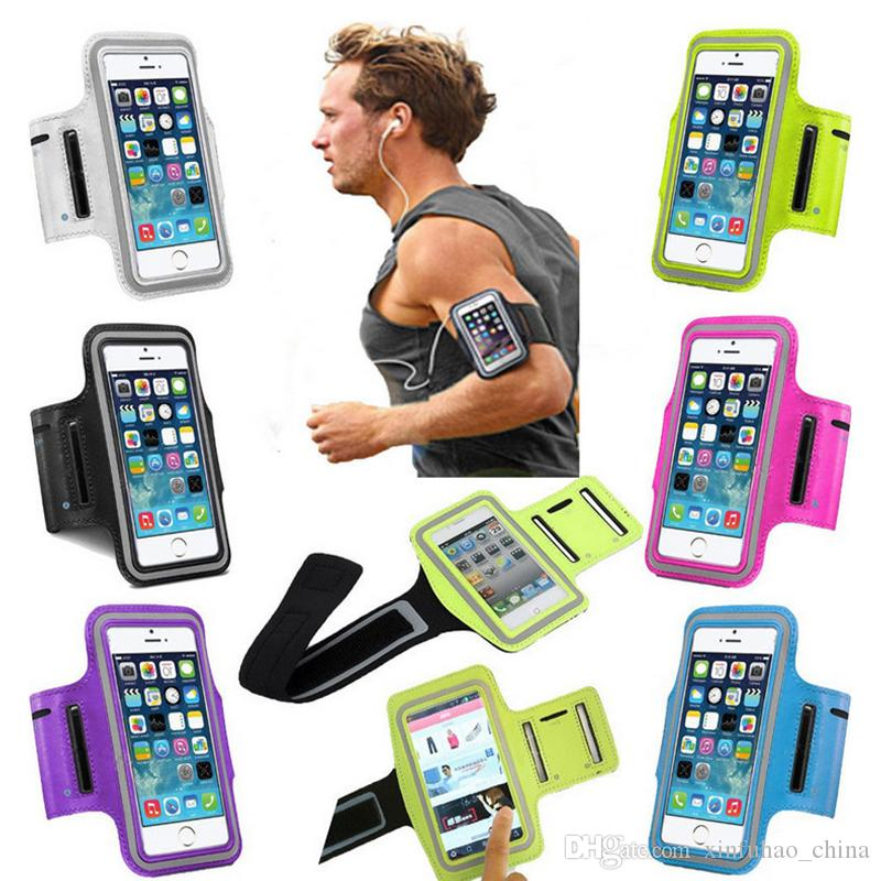 Gym Running exercise Arm Band Sports Armband Case Holder For Apple IPHONE 6,7,8p