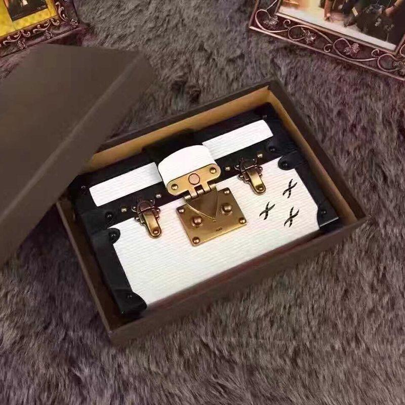 2020 embrayage Designer Wholesale Boîte Sacs à main original soir Sacs excellente qualité sac en cuir de mode Boîte de briques Sac à bandoulière Messenger