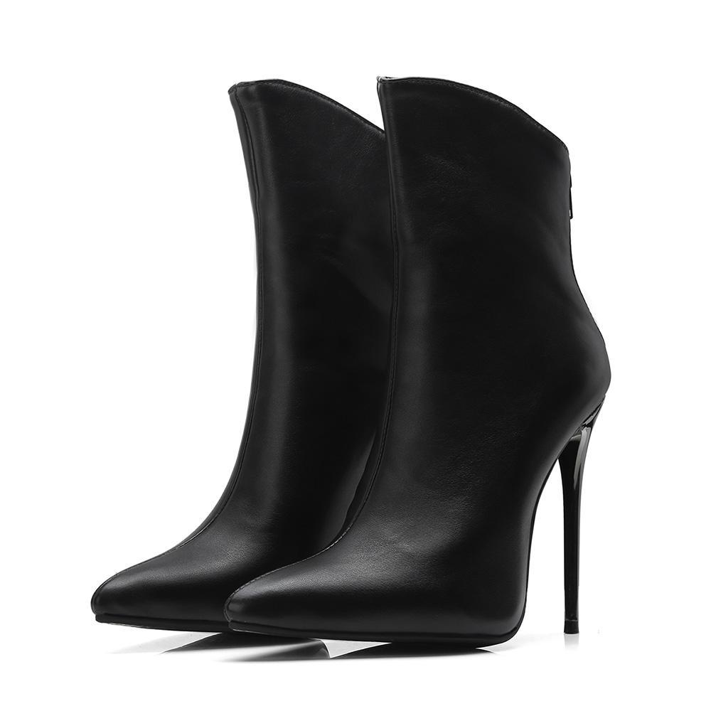 Ladies Stilettos High Heel Patent Leather Platform Pumps Vogue Shoes Plus Sz HOT