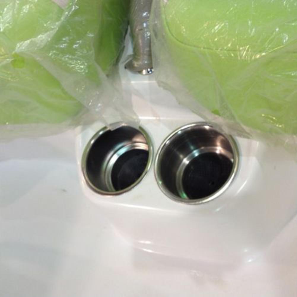 Acessórios garrafa de água suporte de aço inoxidável Marinha Barco Universal Útil Cor Prata Two Stage Lightweight Easy Install
