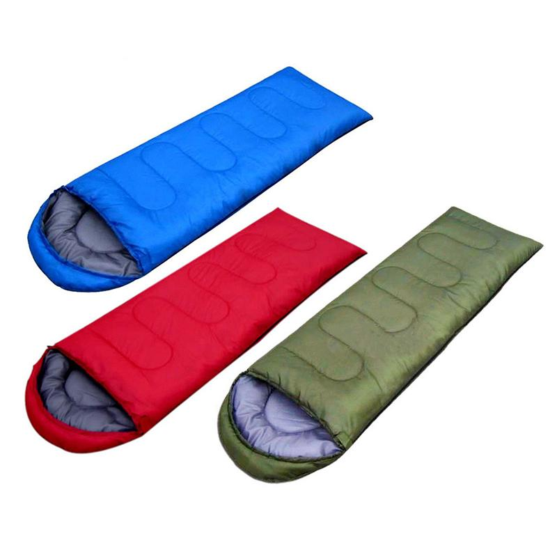 4 Season Warm Envelope Backpacking Sleeping Bag Outdoor Traveling Hiking Camping Waterproof Sleeping Bags