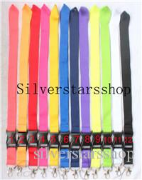 100pcs Lanyard With Clip For Keys Or Id Badges Perfect For  Lanyard Necklace