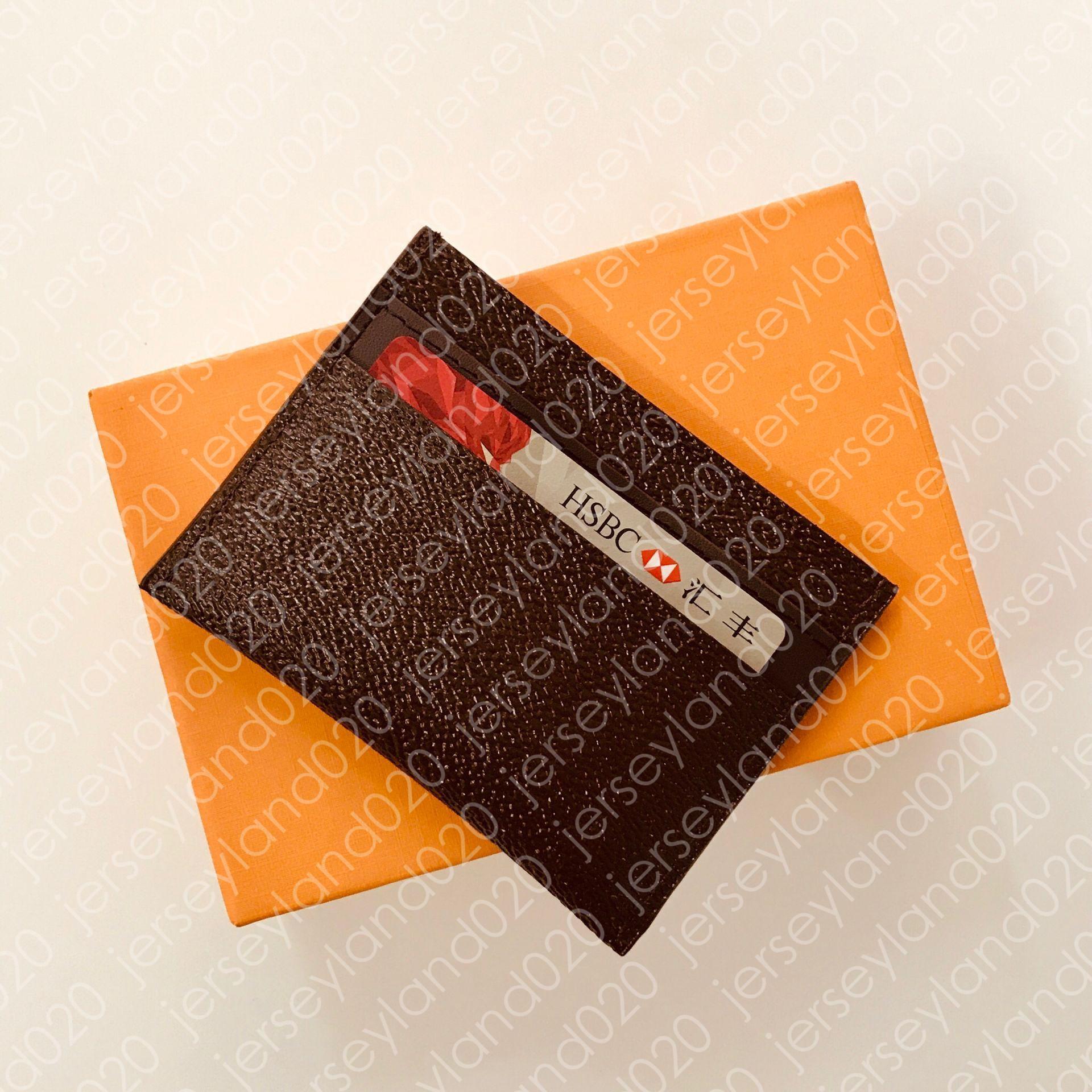 M62170 Porte Cartes Double Mens Coin بطاقة مفتاح حامل مصمم المحفظة بطاقة الهوية التجارية حالة جيب المنظم الفاخرة متعددة XL برازا المحفظة