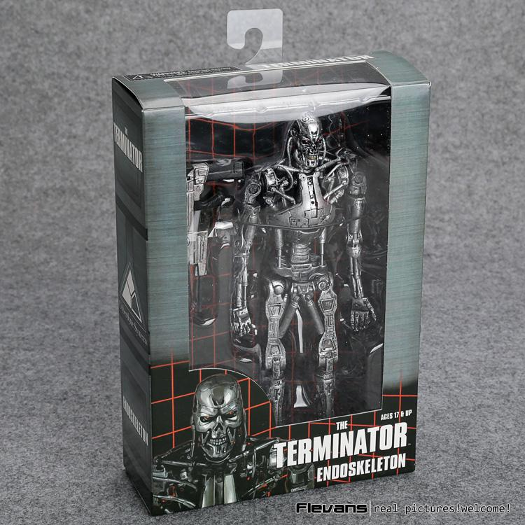"""The Terminator Endoskeleton PVC Action Figure Collectible Model Toy 7"""" 18cm MVFG361 T191129"""