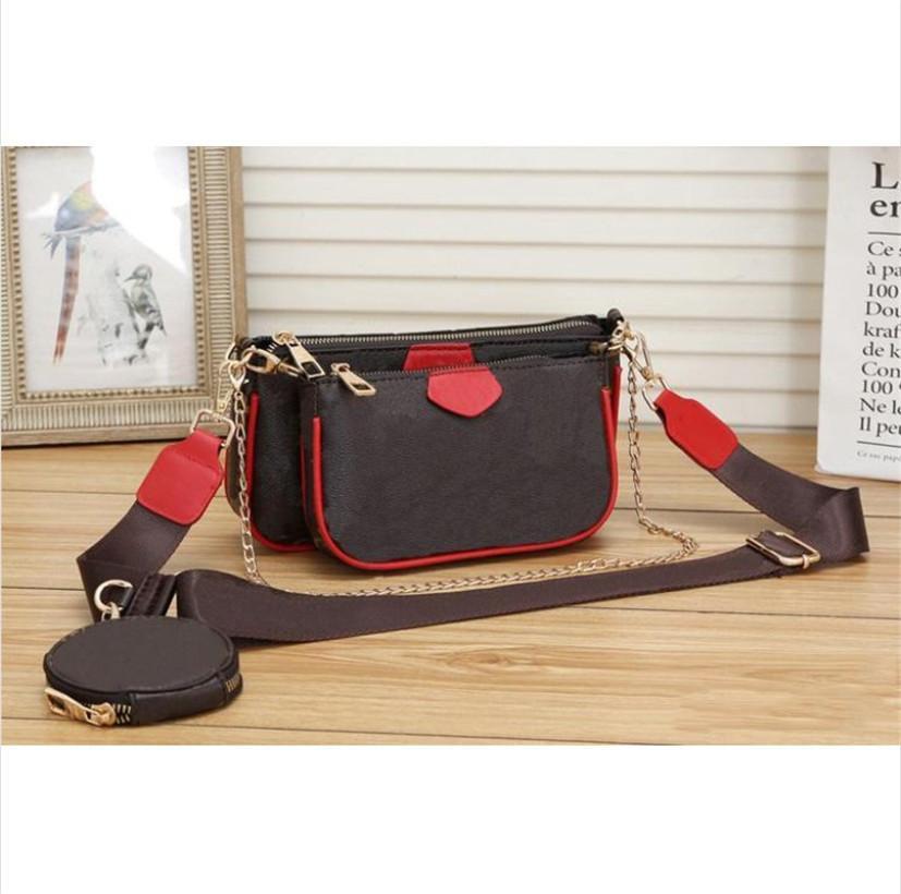 LOGO 2020 neue Art-Art- und Weisefrauen Luxus Taschen Dame Leather alt Blume Presbyopie Handtaschen Geldbeutel-Schulter-Einkaufstasche Weibliche sac freies Verschiffen!