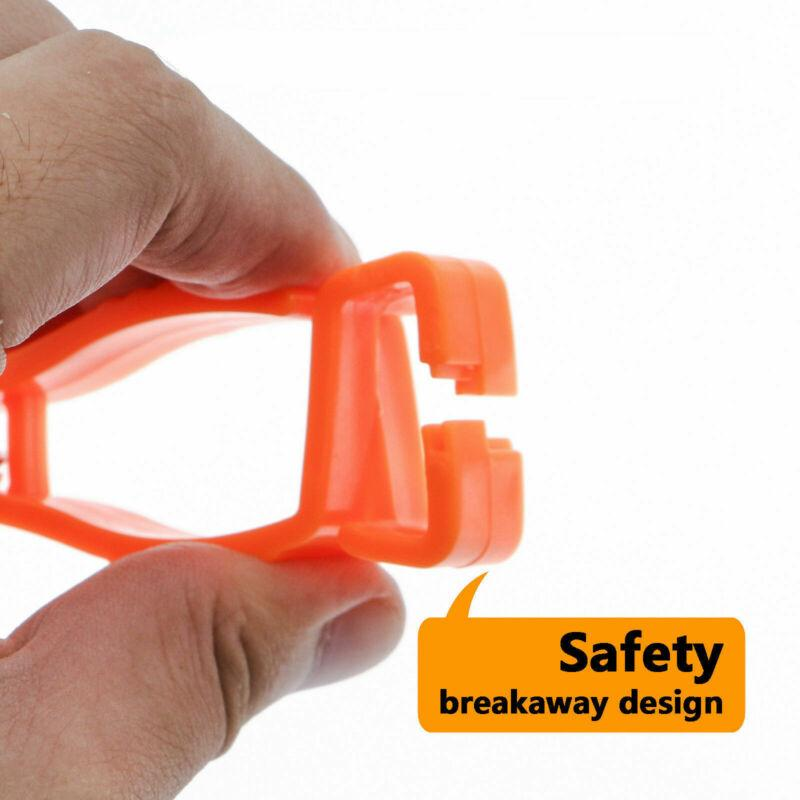 Red Arbeitshandschuhe Clips Arbeits Clamp Sicherheit Arbeitshandschuhe Schutz-Arbeits Supplies 4 Farben Kunststoff Glove Clip