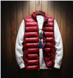 Hommes D'Hiver En Plein Air Manteaux Vers Le Bas Gilet Mâle Gilet Homme Léger Vestes Casual Vêtements De Mode Vêtements Plus La Taille