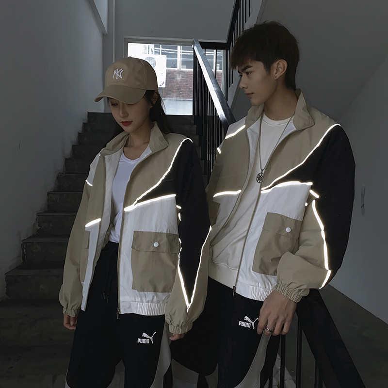 Marca hombres y mujeres de la chaqueta del diseñador de moda de la nueva llegada para mujer para hombre chaquetas rompevientos con el trébol y la Carta ptinted YF203041 Chaqueta