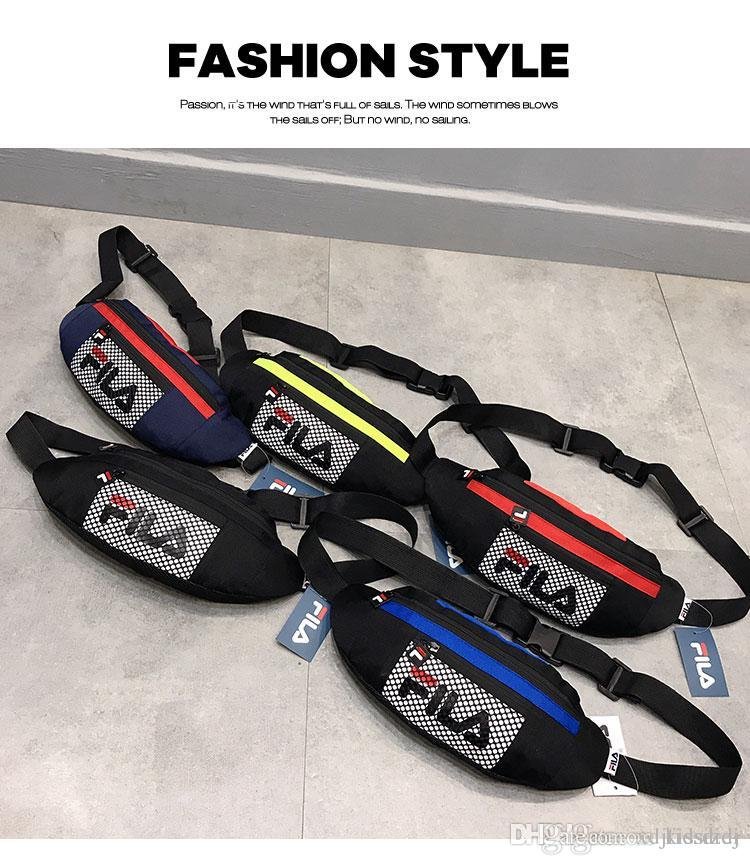 Brand With Letters Luxury Desinger Waist Bags For Men Zipper Outdoor Waistpacks Packs Cycling Classic Cross Body Bags 26 Styles