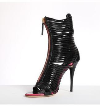 Европейские и американские ремни полая соответствия цветов сексуальные высоких каблуках ночной клуб танцевальной обуви с открытым носком тонкие пятки женщин сандалии