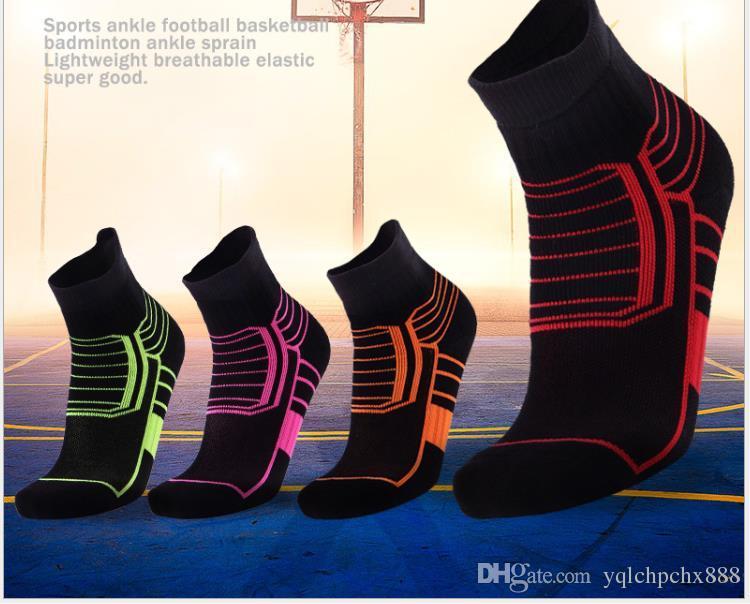 Calze da basket in cotone elite. Calze per asciugamano assorbenti dal sudore
