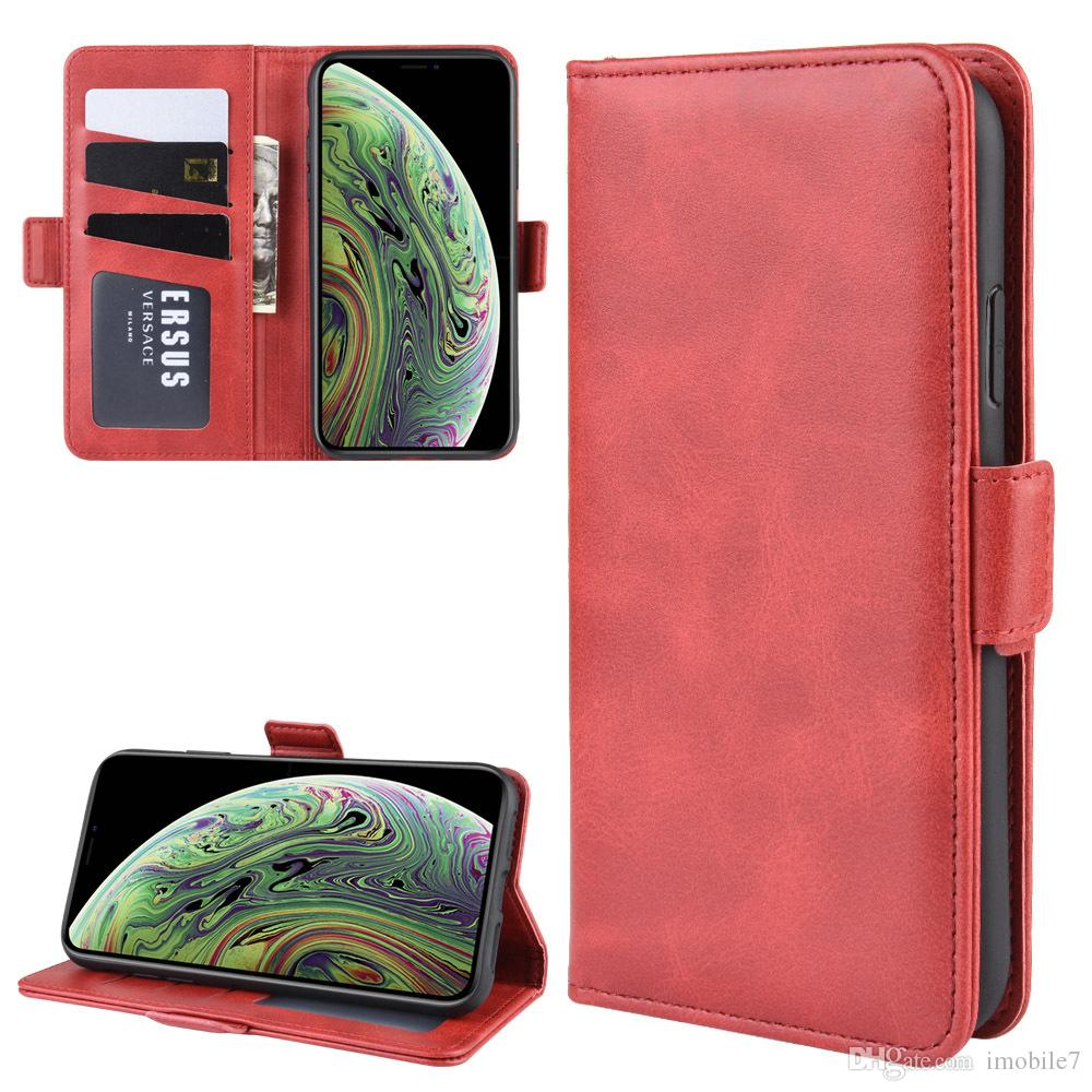 Etui portefeuille en cuir pour iPhone 5 5S SE 6 6S Plus 7 8 Plus coque de protection pour iPhone X XS Max Etui 7Plus 8Plus Flip Stand Book